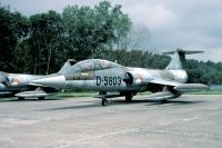 Photo: Royal Netherlands Air Force, Lockheed F-104 Starfighter, D-5803