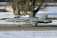 Photo: Swiss Air Force, McDonnell Douglas F-18 Hornet, J-5015