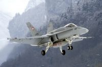 Photo: Swiss Air Force, McDonnell Douglas F-18 Hornet, J-5019