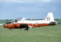 Photo: Royal Air Force, BAC Jet Provost, G-JPVA