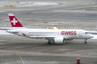 Photo: Swiss, Bombardier CSeries, HB-JBE