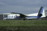 Photo: Delta Air Transport - DAT, Fairchild FH-227, OO-DTA