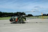 Photo: Swedish Navy, Sud Aviation SA-318 Alouette II, 02036