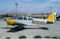 Photo: Spanish Air Force, Beech Bonanza, E.24A-27