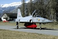 Photo: Swiss Air Force, Northrop F-5 Freendom Fighter/Tiger II, J-3037