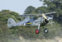 Photo: Royal Air Force, Gloster Gladiator, G-AMRK