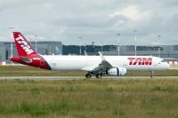 Photo: TAM, Airbus A321, D-AVXS