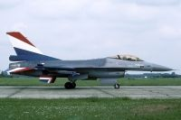 Photo: Royal Netherlands Air Force, General Dynamics F-16, J-060