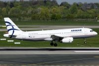 Photo: Aegean Airlines, Airbus A320, SX-OAS
