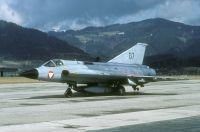 Photo: Austrian Air Force, Saab J35 Draken, 07