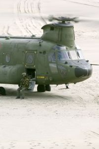 Photo: Royal Netherlands Air Force, Boeing CH-47 Chinook, D-102