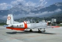 Photo: Swiss Air Force, Pilatus P-3, A-813