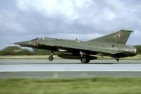 Photo: Denmark - Air Force, Saab J35 Draken, A-019