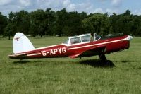 Photo: Private, De Havilland Canada DHC-1 Chipmunk, G-APYG