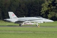 Photo: Swiss Air Force, McDonnell Douglas F-18 Hornet, J-5006
