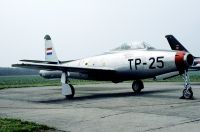 Photo: Royal Netherlands Air Force, Republic F-84E Thunderjet, K-6