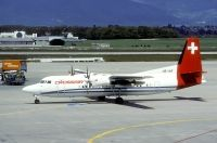 Photo: Crossair, Fokker F50, HB-IAR