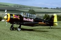 Photo: Red Bull (The Flying Bulls), North American SNJ, D-FHGL