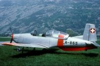 Photo: Swiss Air Force, Pilatus P-3, A-865
