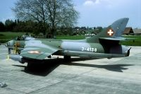 Photo: Swiss Air Force, Hawker Hunter, J-4138