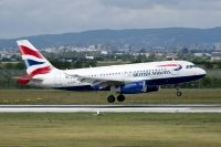 Photo: British Airways, Airbus A319, G-EUPJ