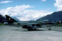 Photo: Swiss Air Force, Hawker Hunter, J-4035