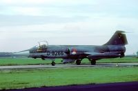 Photo: Royal Netherlands Air Force, Lockheed F-104 Starfighter, D-8266