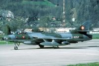Photo: Swiss Air Force, Hawker Hunter, J-4057