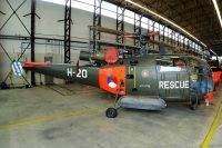 Photo: Royal Netherlands Air Force, Aerospatiale Alouette III, H-20
