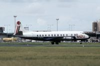 Photo: Intra Airways, Vickers Viscount 800, G-BAPG