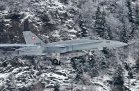 Photo: Swiss Air Force, McDonnell Douglas F-18 Hornet, J-5012