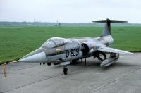Photo: Royal Netherlands Air Force, Lockheed F-104 Starfighter, D-8051