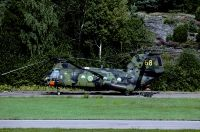 Photo: Swedish Air Force, Kawasaki-Vertol KV-107, 04068