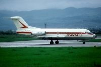 Photo: Itavia, Fokker F28, D-ABAQ