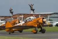 Photo: Breitling wingwalkers, Stearman N2S-3, N707TJ