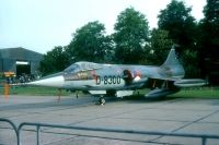 Photo: Royal Netherlands Air Force, Lockheed F-104 Starfighter, D-8300
