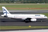 Photo: Aegean Airlines, Airbus A320, SX-DVH