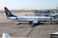 Photo: South African Airways, Boeing 737-800, ZS-SJD