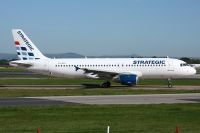 Photo: Strategic Airlines, Airbus A320, LX-STC