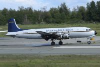 Photo: Everts Air Cargo, Douglas DC-6, N747CE