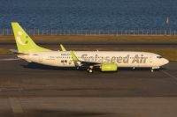Photo: Solaseed Air, Boeing 737-800, JA804X