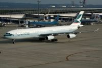 Photo: Cathay Pacific Airways, Airbus A340-200/300, B-HXD