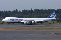 Photo: Nippon Cargo Airlines - NCA, Boeing 747-800, JA13KZ