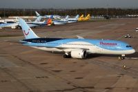 Photo: Thomson Holidays, Boeing 787, G-TUIE
