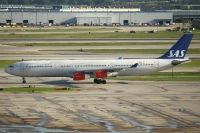 Photo: Scandinavian Airlines - SAS, Airbus A340-200/300, OY-KBI