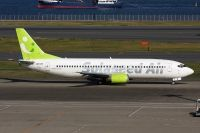 Photo: Solaseed Air, Boeing 737-400, JA737E