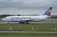 Photo: Small Planet Airlines, Boeing 737-300, LY-FLE