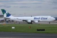 Photo: Med View Airlines, Boeing 747-400, TF-AMV