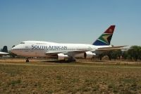 Photo: South African Airways, Boeing 747SP, ZS-SPC