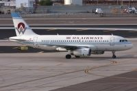 Photo: US Airways, Airbus A319